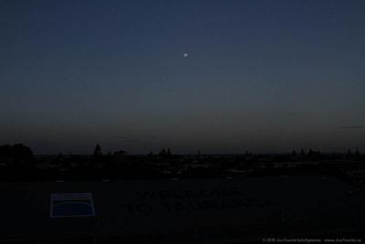 Full Moon over Tauranga