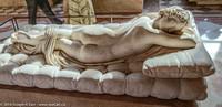 """""""Hermaphrodite endormi"""" -  - ancient Roman marble sculpture"""