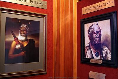 Maori chiefs portraits