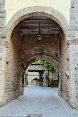 Spital bastion gates