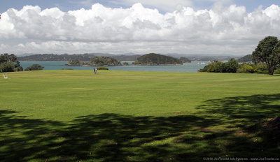 Front lawn & Bay of Islands