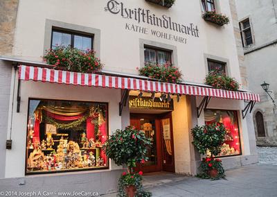 Kathe Wohlfahrt's famouse Christmas shop